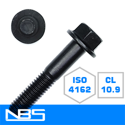 Cl.10.9 ISO 4162 Non-Serrated Frame Bolts