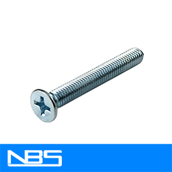 Phil Flat Machine Screws