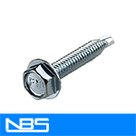 TEK 2 HWH Reverse Serrated Self Drilling Screws (7/16