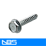 "Garage Door HWH Serrated Sheet Metal Screws (7/16"" AF)"